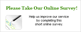 Click here to take our Online Patient Survey...